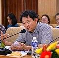 PGS.TS Phạm Đình Nghiệm hiện công tác tại Khoa Khoa học Cơ bản thuộc Đại học Luật TP HCM.jpg