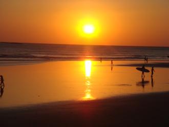 Playa Grande, Costa Rica - Sunset at Playa Grande