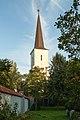 PL-DS, pow. wrocławski, gm. Żórawina, Węgry, ul. Kościelna; Zespół kościoła par. p.w. św. Jadwigi- Kościół par. p.w. św. Jadwigi (wieża); 1816; 01.jpg