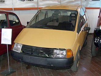 Prototype - A prototype of the Polish economy hatchback car Beskid 106 designed in the 1980s.