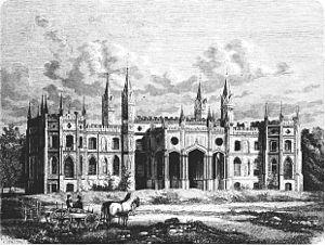 Dowspuda - Image: POL Dowspuda castle