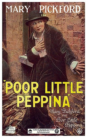 Poor Little Peppina - Theatrical poster