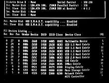La seconda fase di un'operazione POST, immediatamente precedente al bootstrap (AMI Bios)