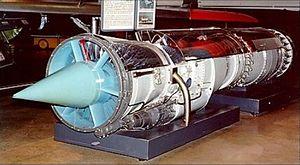 Pratt & Whitney J57 - YJ57-P-3 cut-away demonstrator at USAF Museum