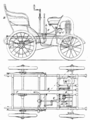 PSM V57 D607 Plan and elevation of underberg motor voiturette.png