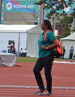 P. T. Usha Indian track and field athlete