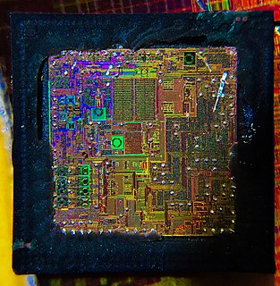 Die (integrated circuit) an unpackaged integrated circuit