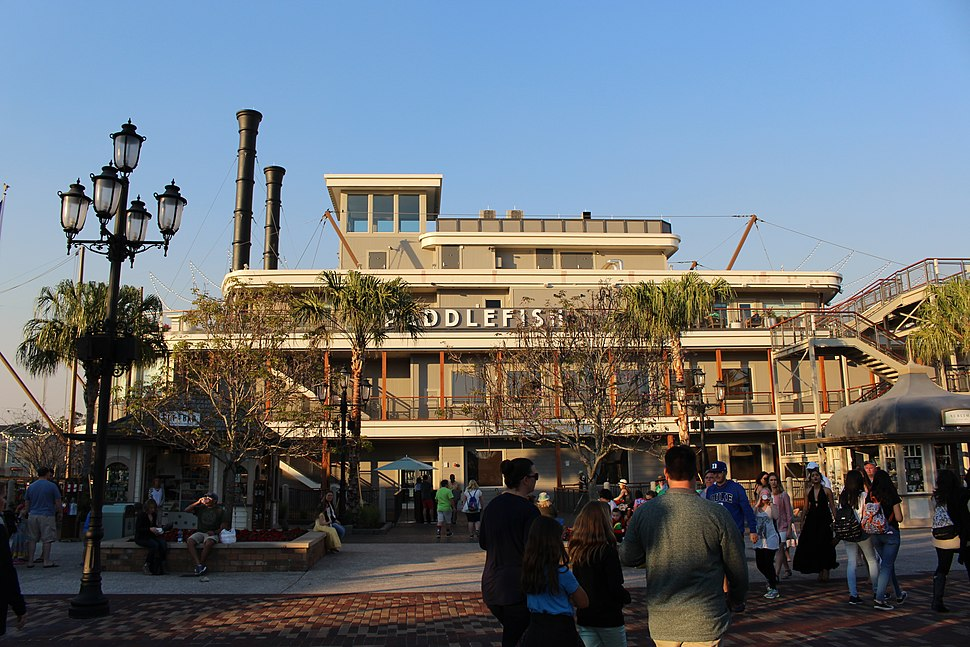Paddlefish restaurant, Disney Springs