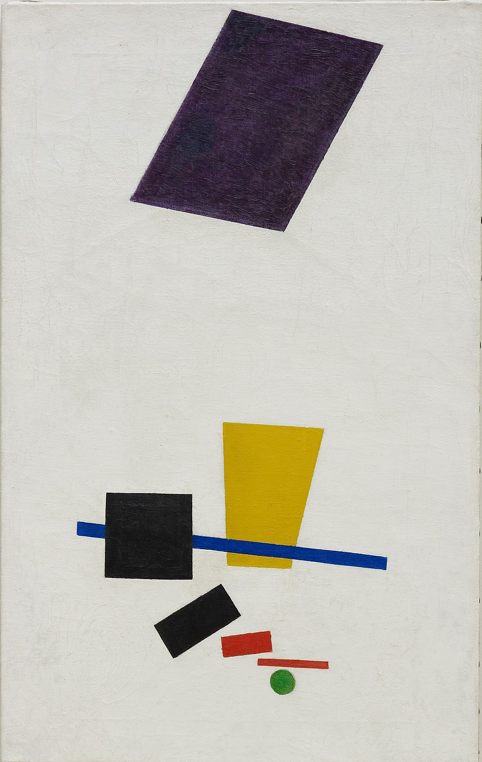 Painterly Realism of a Football Player – Color Masses in the 4th Dimension (Malevich, 1915) - Google Art Project