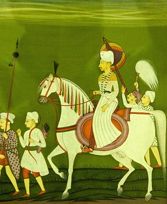 Balaji Baji Rao - Image: Painting at Prince of Wales museum