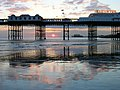 Palace Pier at Sunset - geograph.org.uk - 372175.jpg