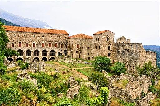 Palace at Mystras