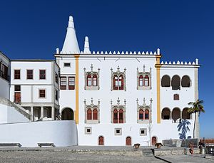 Palace of Sintra - Manueline wing