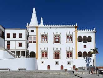 Palace of Sintra - Manueline wing
