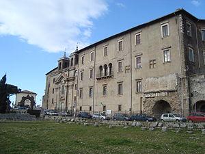 Barberini family - The Palazzo Colonna Barberini in Palestrina; the comune over which various Barberini family members were given control.