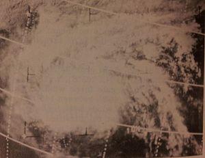 1966 Pacific typhoon season - Image: Pamela Dec 2619660507z