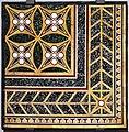 Pannello con opus sectile parietale, età neroniana, dalla domus tiberiana.jpg