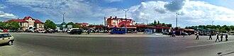 Lubny - Image: Panorama Yarmarkova Area