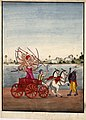 Paraśurāma fighting King Kartavirya Arjuna..jpg