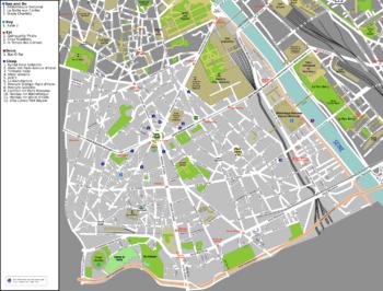 Th Arrondissement Of Paris Wikipedia - Show map of paris arrondissements