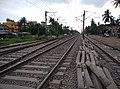Part of the Sealdah–Bangaon line between Barasat Junction and Hridaypur Railway Station 2020-10-12.jpg