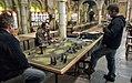 Partida de Warhammer en la sede de Games Workshop (Nottingham, Inglaterra).jpg
