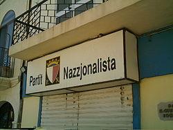 Sede del Partido Nacionalista en Marsaxlokk