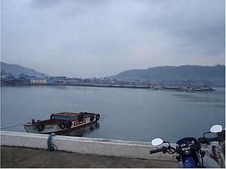 Pasacao, Camarines Sur -  The port of Pasacao