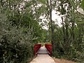 Pasarela roja sobre el rio Lozoya (15041392398).jpg