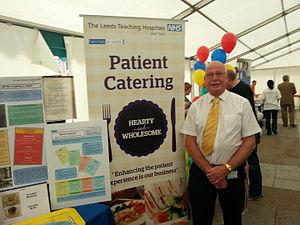 Leeds Teaching Hospitals NHS Trust - Patient Catering display June 2013