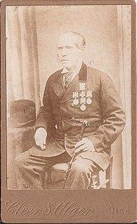 British soldier, Victoria Cross recipient