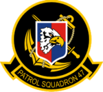 Patrol Squadron 47 (US Navy) insignia 1964.png
