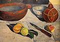 Paul gauguin, il pranzo (le banane), 1891, 05 coltello.JPG