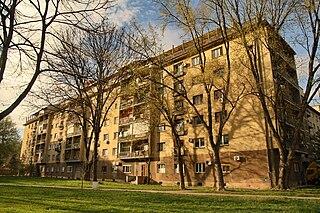 Paviljoni Urban neighbourhood in New Belgrade, Belgrade, Serbia