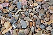 Pebbles on beach at Broulee -NSW -Australia-2Jan2009