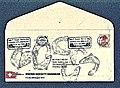 Pedro Meier Mail Art. Swiss Society Bangkok, Briefumschlag übermalt mit Fischen. Marine life. 1999. Adressiert an Santi Gallery Bangkok Thailand. Photo © Pedro Meier.jpg