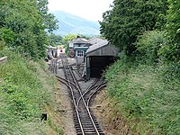 Pendre station and depot, Talyllyn Railway - geograph.org.uk - 283636.jpg