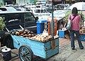 Penjual buah lontar Pasar Baru.JPG