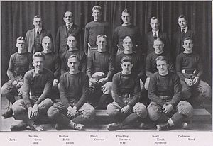 1917 Penn State Nittany Lions football team - Image: Penn State Football 1917