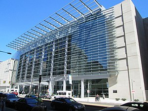 Pennsylvania Convention Center - The new Broad Street facade of the Convention Center