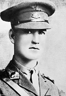 Percy Cherry Australian Victoria Cross recipient
