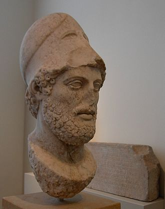 The Story of Civilization - Bust of Pericles after Cresilas, Altes Museum, Berlin