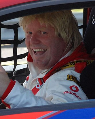 Peter Helliar - Peter Helliar in his Bryan Strauchan guise during the 2008 Australian Grand Prix Celebrity Challenge