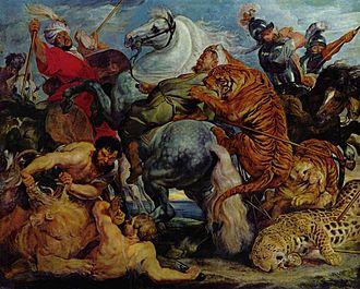 The Tiger Hunt - Image: Peter Paul Rubens 110