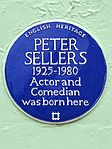 Peter Sellers 1925-1980 Actor and Comedian was born here.jpg