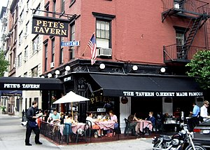 Pete's Tavern - Image: Petes tavern 2007 crop