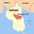 Ph locator bataan balanga.png