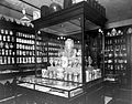 Pharmacy jars etc. on display in the museum at Wigmore St Wellcome L0011735.jpg