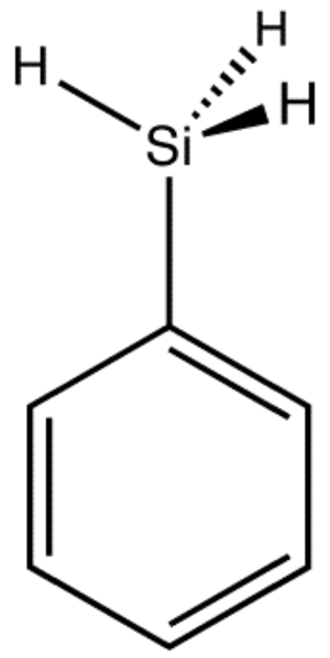 Phenylsilane - Image: Phenylsilane