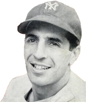 Phil Rizzuto - Rizzuto in 1950, the year he was named the American League's Most Valuable Player.